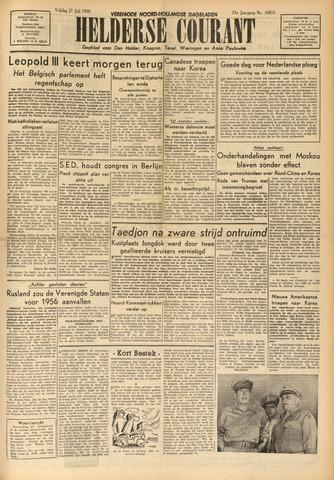 Heldersche Courant 1950-07-21