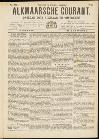 Alkmaarsche Courant 1905-08-26