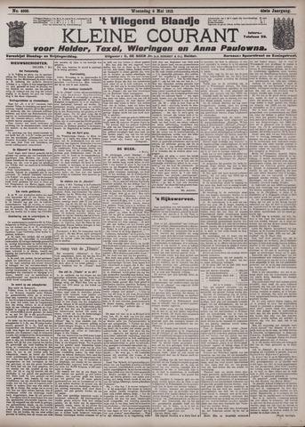 Vliegend blaadje : nieuws- en advertentiebode voor Den Helder 1912-05-08