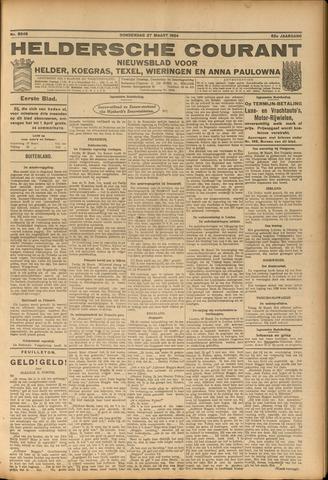 Heldersche Courant 1924-03-27