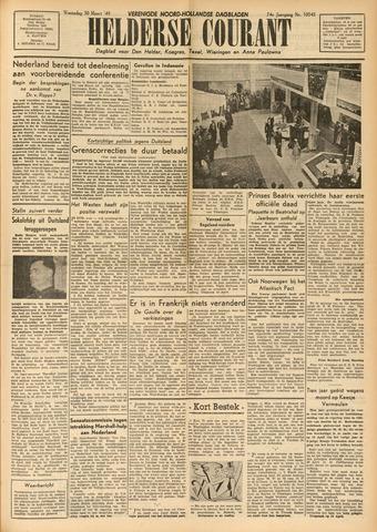 Heldersche Courant 1949-03-30