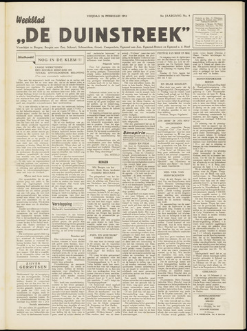 De Duinstreek 1954-02-26