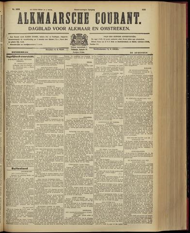 Alkmaarsche Courant 1928-08-23