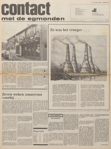Contact met de Egmonden 1980-08-20