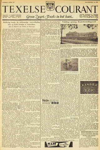 Texelsche Courant 1953-04-04