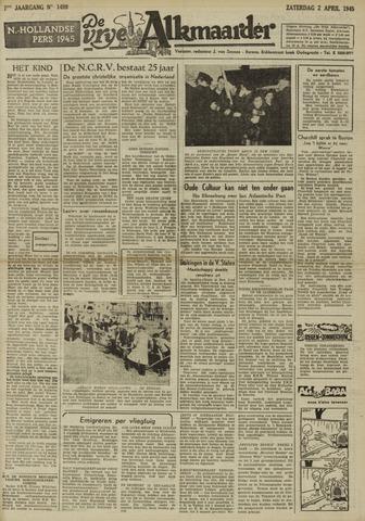 De Vrije Alkmaarder 1949-04-02