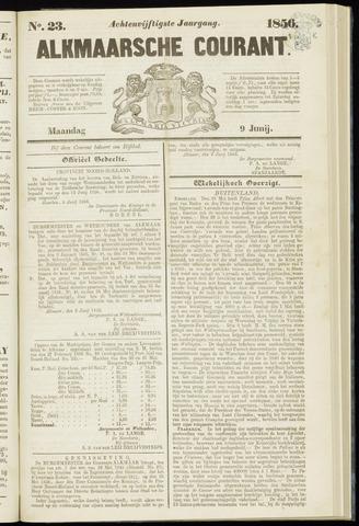 Alkmaarsche Courant 1856-06-09