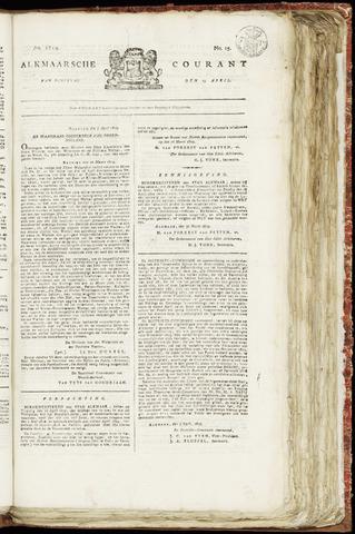 Alkmaarsche Courant 1819-04-13