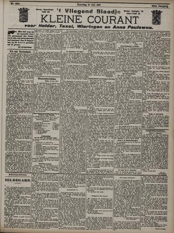 Vliegend blaadje : nieuws- en advertentiebode voor Den Helder 1907-07-27