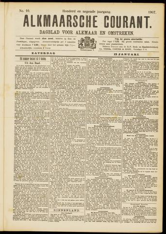 Alkmaarsche Courant 1907-01-12
