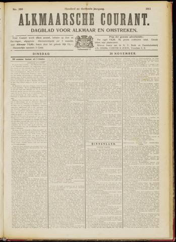 Alkmaarsche Courant 1911-11-28