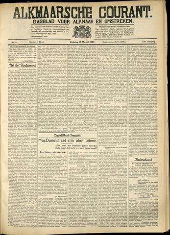 Alkmaarsche Courant 1933-03-17