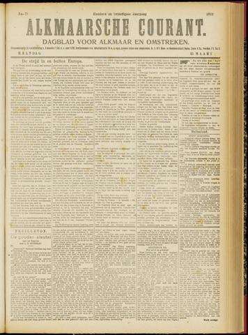 Alkmaarsche Courant 1918-03-25