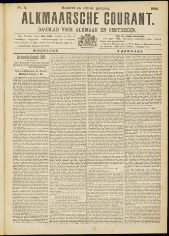 Alkmaarsche Courant 1906-01-03