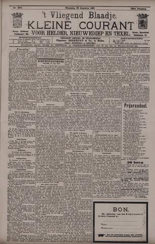 Vliegend blaadje : nieuws- en advertentiebode voor Den Helder 1895-08-28