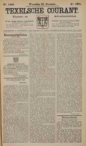 Texelsche Courant 1901-12-25