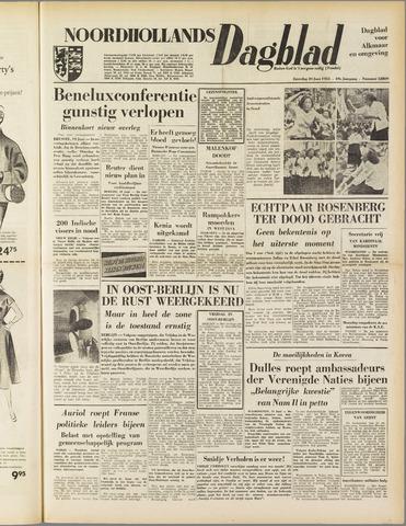 Noordhollands Dagblad : dagblad voor Alkmaar en omgeving 1953-06-20