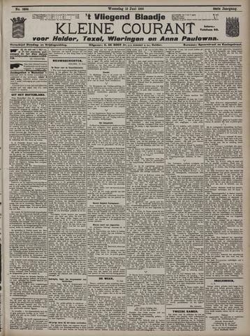 Vliegend blaadje : nieuws- en advertentiebode voor Den Helder 1910-06-15