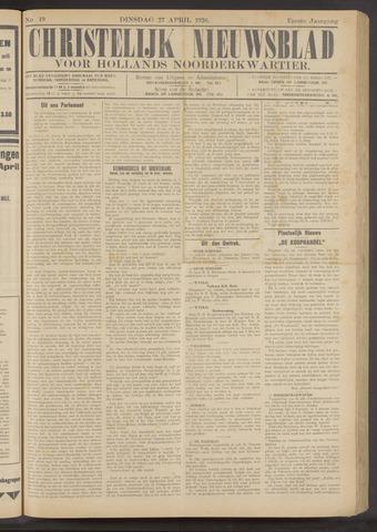 Nieuwe Langedijker Courant 1926-04-27