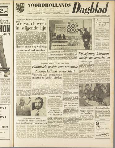Noordhollands Dagblad : dagblad voor Alkmaar en omgeving 1958-11-19