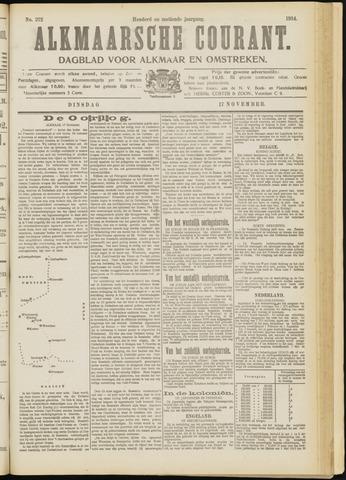 Alkmaarsche Courant 1914-11-17