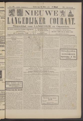 Nieuwe Langedijker Courant 1921-05-28