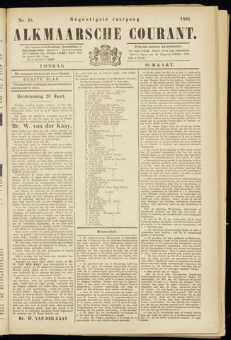 Alkmaarsche Courant 1888-03-18