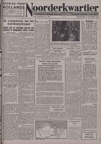 Dagblad voor Hollands Noorderkwartier 1941-11-27