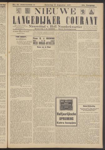Nieuwe Langedijker Courant 1927-08-13