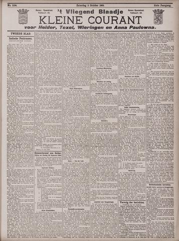 Vliegend blaadje : nieuws- en advertentiebode voor Den Helder 1903-10-03