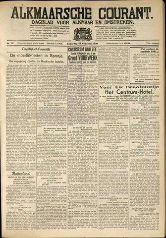 Alkmaarsche Courant 1934-08-25