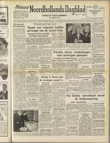 Nieuw Noordhollandsch Dagblad : voor Alkmaar en omgeving 1952-01-25