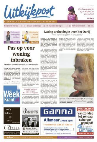 Uitkijkpost : nieuwsblad voor Heiloo e.o. 2010-11-03