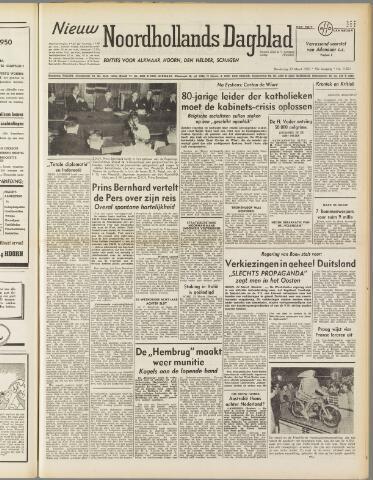 Nieuw Noordhollandsch Dagblad : voor Alkmaar en omgeving 1950-03-23