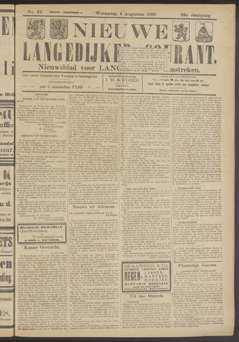 Nieuwe Langedijker Courant 1920-08-04