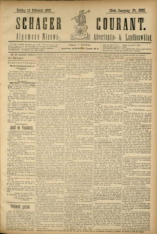Schager Courant 1895-02-10