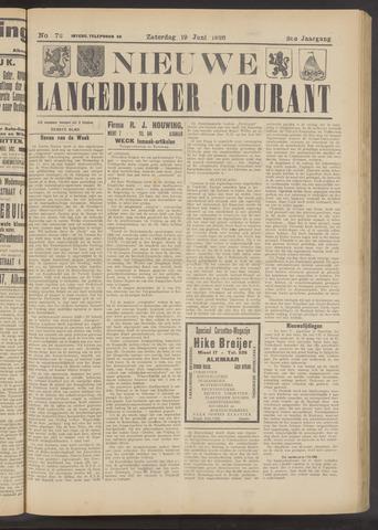 Nieuwe Langedijker Courant 1926-06-19