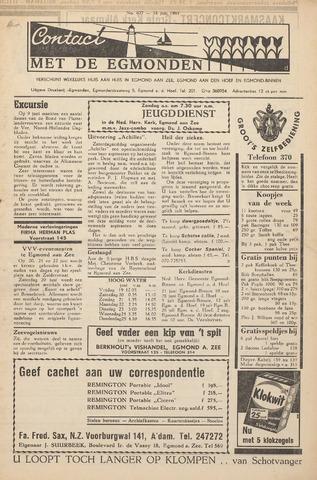 Contact met de Egmonden 1964-06-18