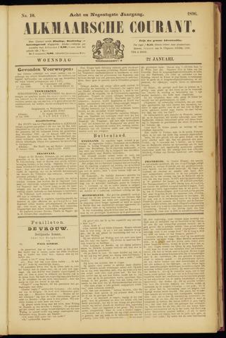 Alkmaarsche Courant 1896-01-22