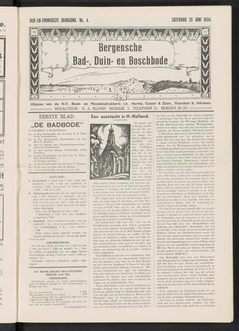 Bergensche bad-, duin- en boschbode 1934-06-23