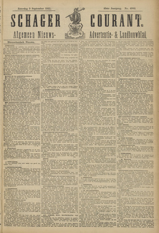 Schager Courant 1911-09-09