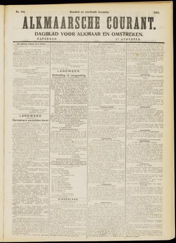 Alkmaarsche Courant 1912-08-17