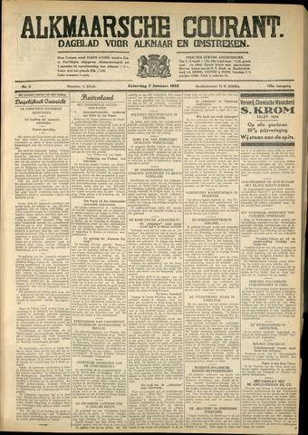 Alkmaarsche Courant 1933-01-07