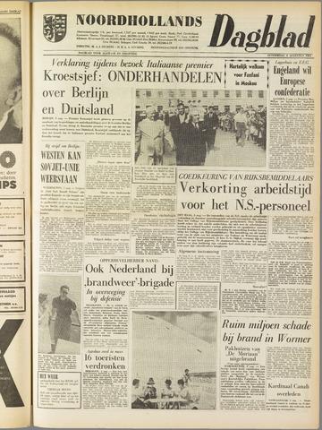 Noordhollands Dagblad : dagblad voor Alkmaar en omgeving 1961-08-03