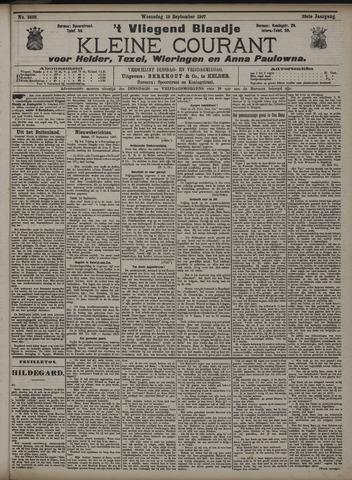 Vliegend blaadje : nieuws- en advertentiebode voor Den Helder 1907-09-18