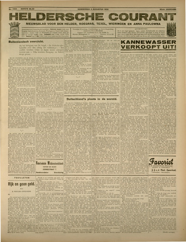 Heldersche Courant 1932-08-04