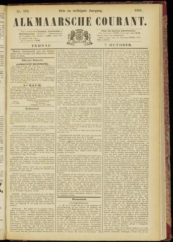 Alkmaarsche Courant 1881-10-07