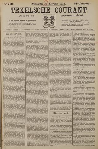 Texelsche Courant 1911-02-16