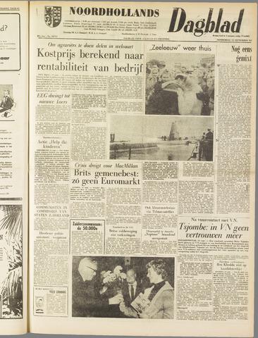 Noordhollands Dagblad : dagblad voor Alkmaar en omgeving 1962-09-13