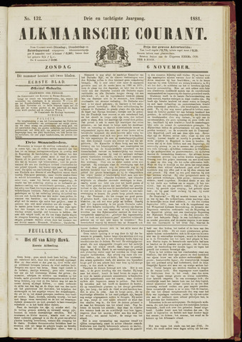 Alkmaarsche Courant 1881-11-06